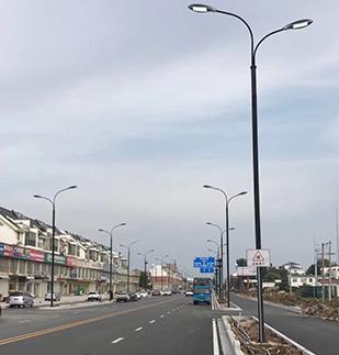 安徽凤阳县led路灯工程案_ led路灯价格